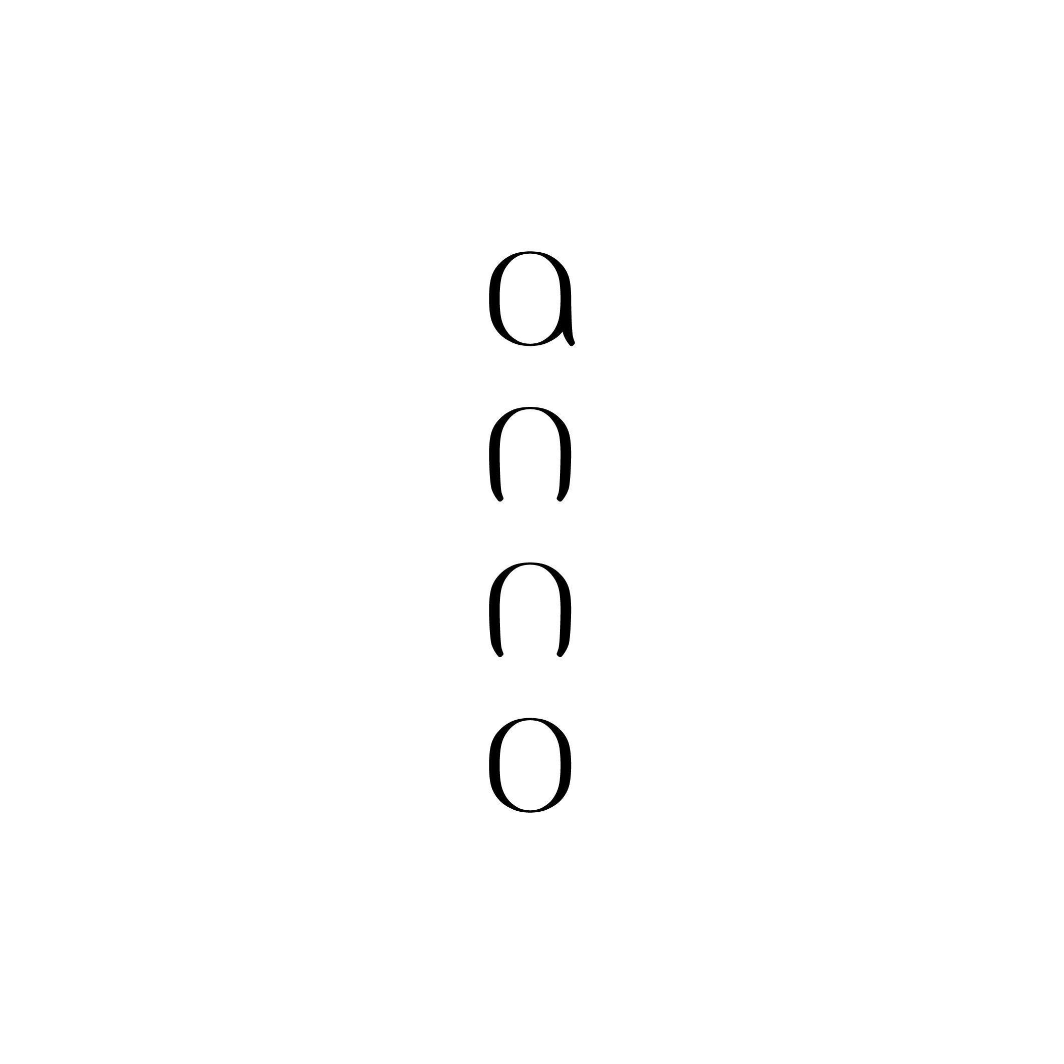 Logo design / anno